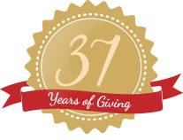 37 Years of Giving